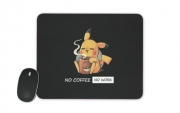 tapis de souris Pikachu Coffee Addict