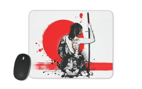 tapis de souris Trash Polka - Female Samurai