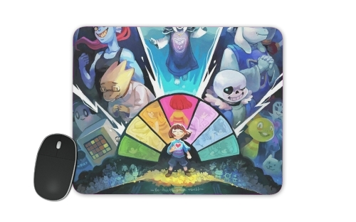 tapis de souris Undertale Art
