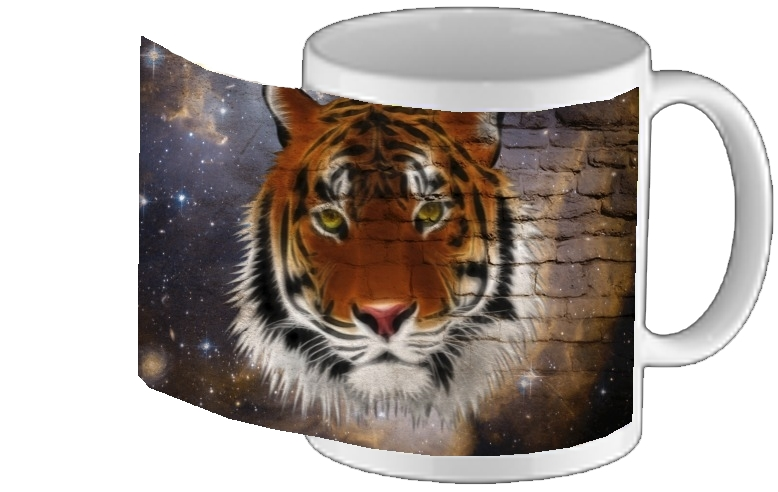 Mug Abstract Tiger