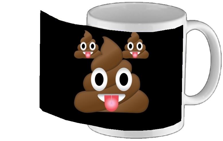 Design Mug Tasse Emoji Caca Personnalisé 7yf6gYb