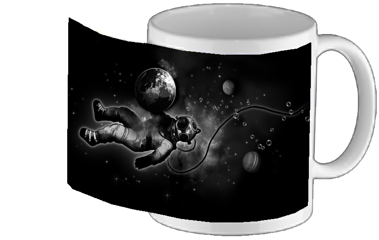 mug Deep Sea Space Diver