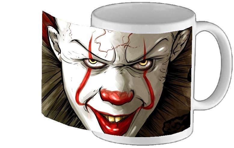 Mug Design Evil Personnalisé Tasse Clown 0vNnwm8O
