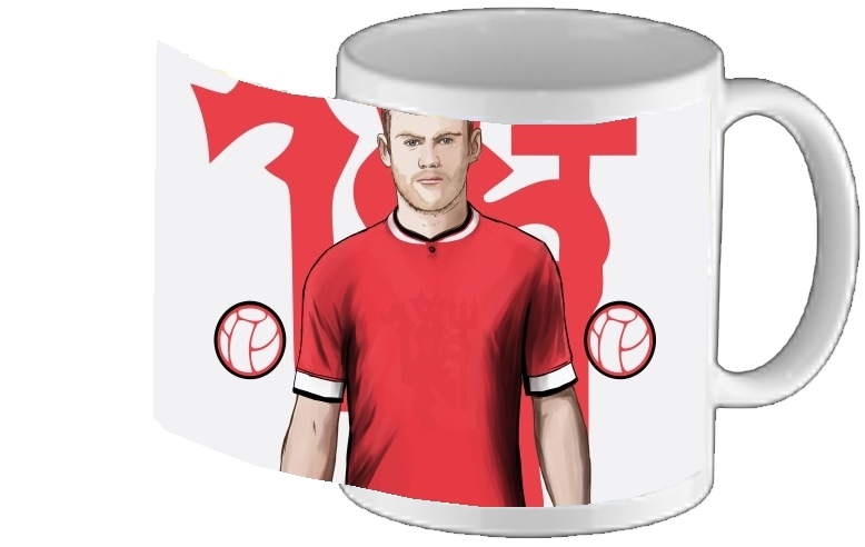 mug Football Stars: Red Devil Rooney ManU