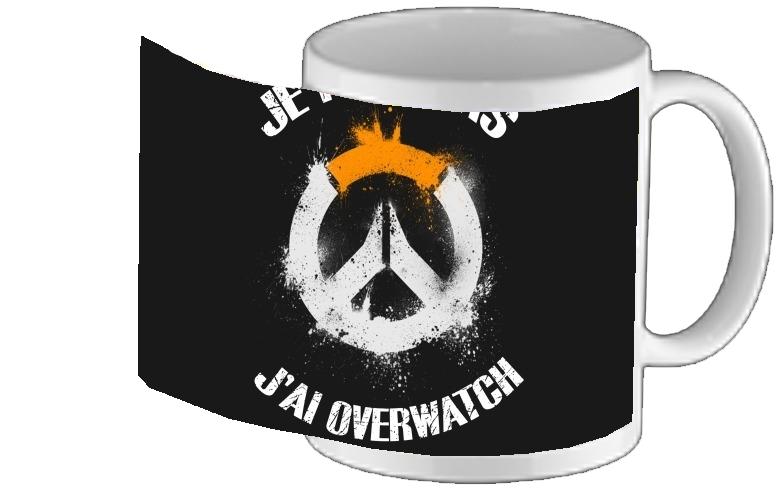 Peux Coque Overwatch Pour Téléphone Pas Je J'ai Portable UzSMVp