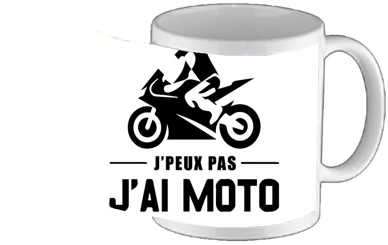 Tasse Pas Mug Personnalisé Design J'peux J'ai Moto zGqSUMpV