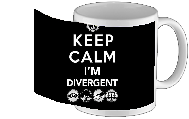 Mug Keep Calm Divergent Faction