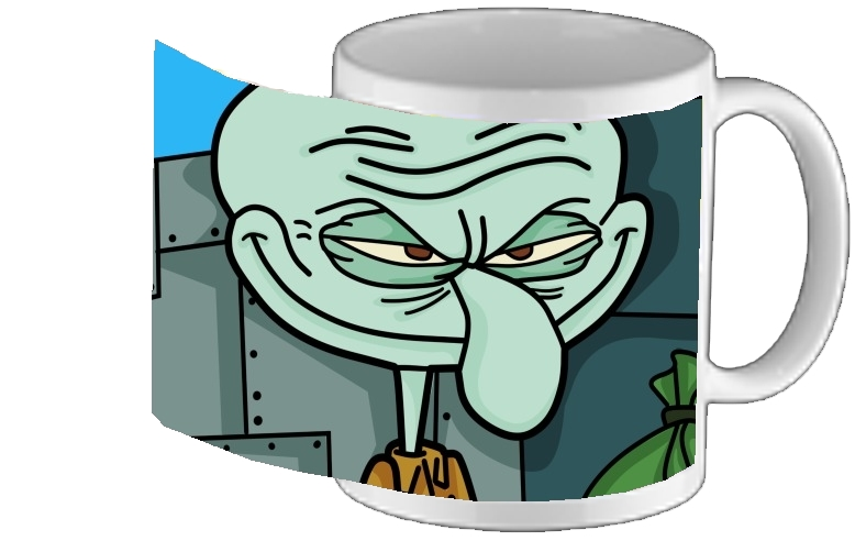 Mug personnalisé - Tasse design Meme Collection Squidward Tentacles