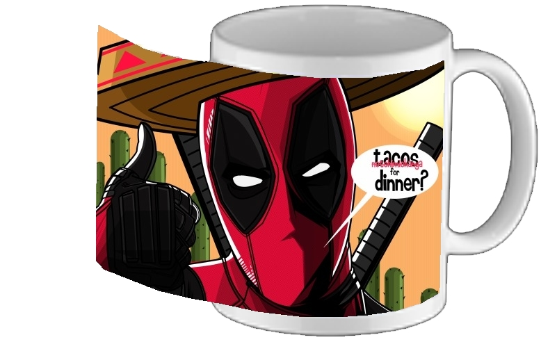 mug Mexican Deadpool