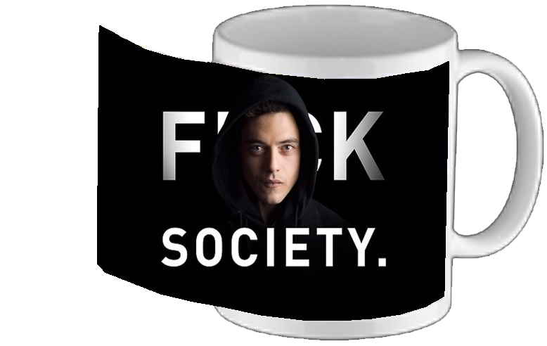 mug Mr Robot Fuck Society