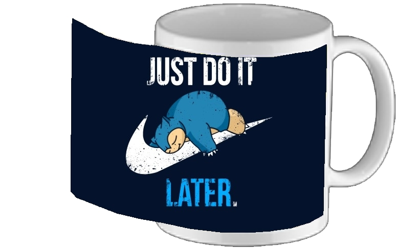 tasse mug Nike Parody Just do it Late X Ronflex