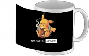 mug Pikachu Coffee Addict