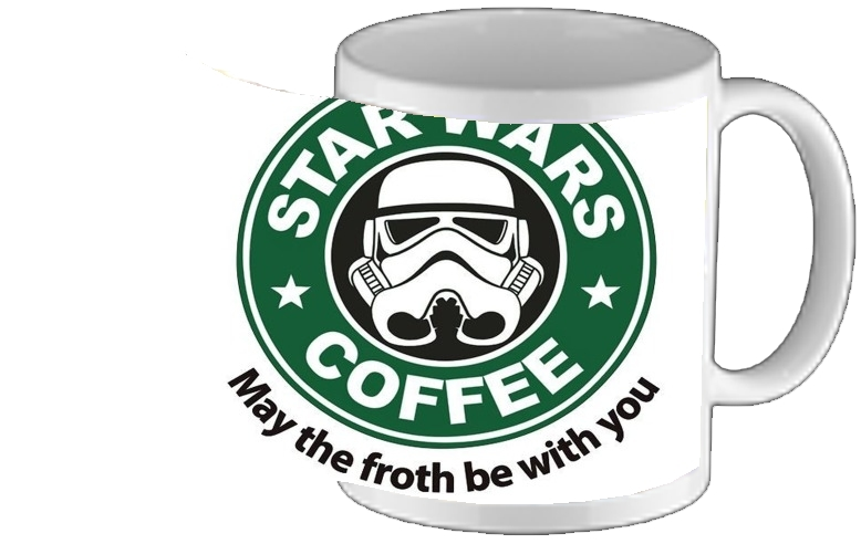 tasse mug Stormtrooper Coffee inspired by StarWars