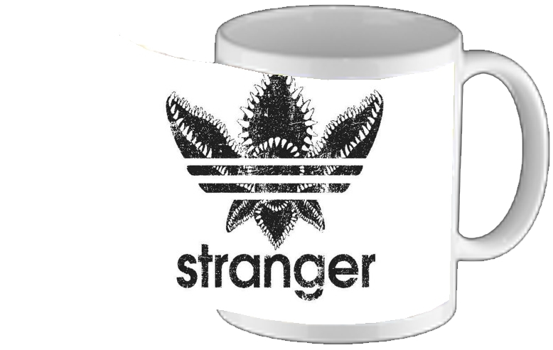 mug Stranger Things Demogorgon Monstre Parodie Adidas Logo Serie TV