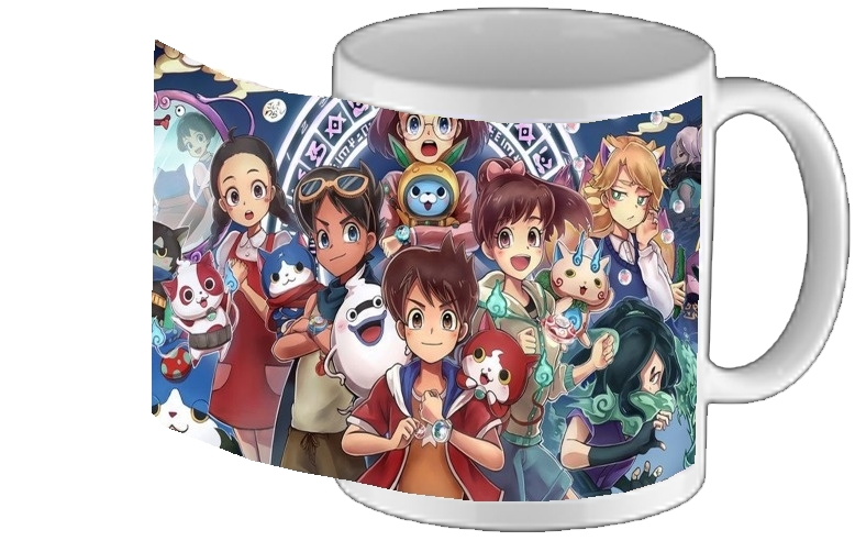 mug Yokai Watch fan art