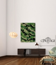 poster Camouflage Militaire Vert