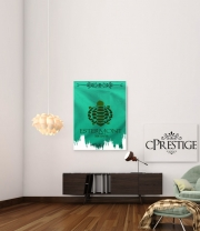 poster Flag House Estermont