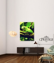 poster Green Frog
