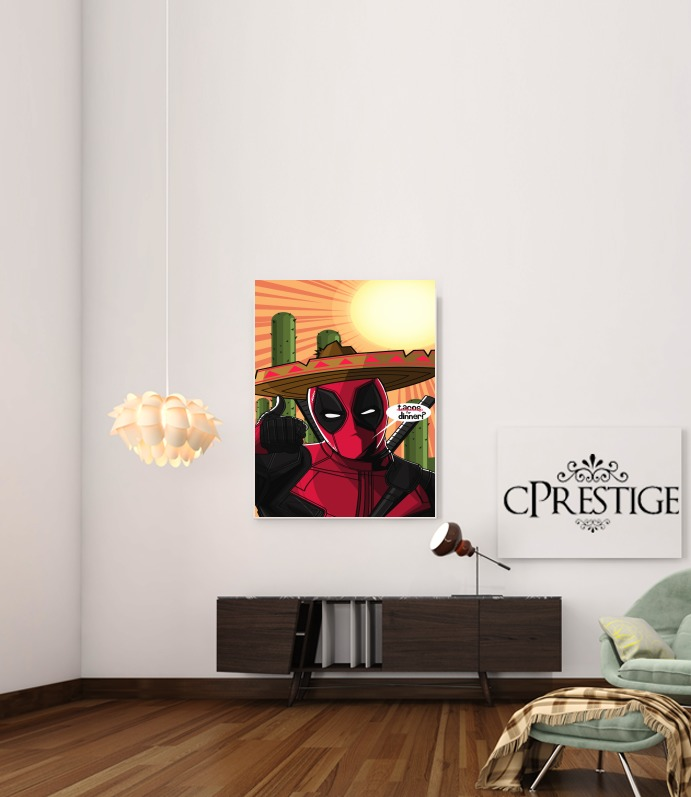 Poster Mexican Deadpool