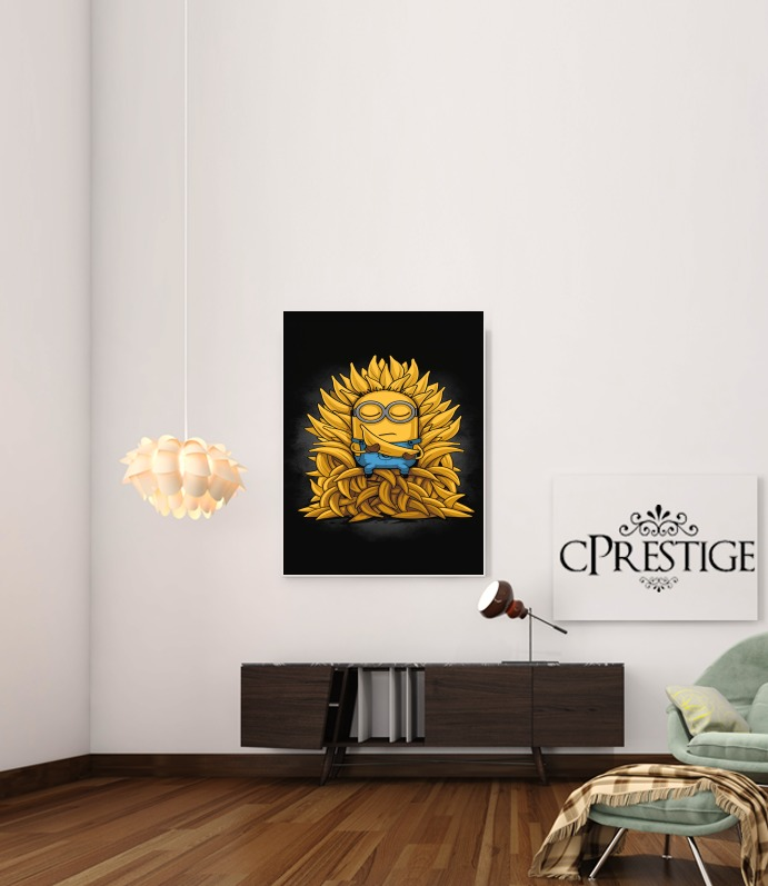 Poster Minion Throne