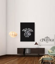 poster Sons Of Anarchy Skull Moto