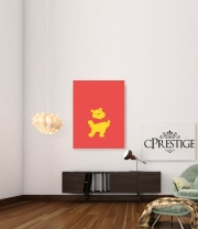 poster Winnie The pooh Abstract