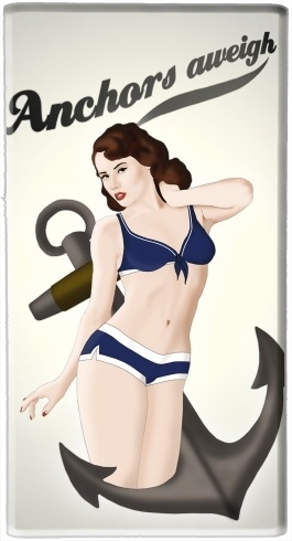 batterie motif Anchors Aweigh - Classic Pin Up