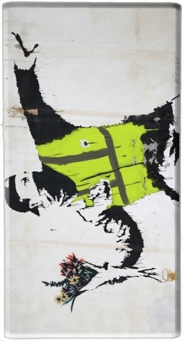 batterie motif Bansky Yellow Vests