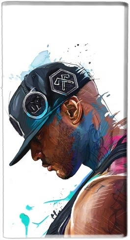 batterie motif Booba Fan Art Rap