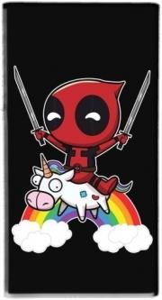 Coque Deadpool Unicorn pour téléphone portable