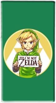 Coque Im not Zelda pour téléphone portable