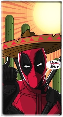 batterie motif Mexican Deadpool