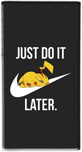 batterie motif Nike Parody Just Do it Later X Pikachu