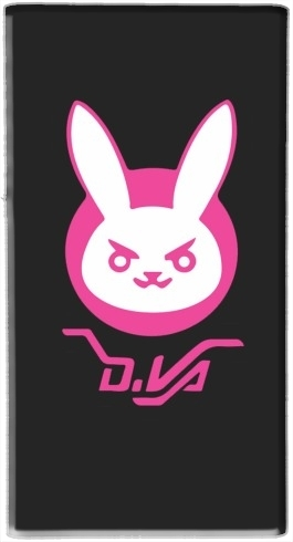 batterie motif Overwatch D.Va Bunny Tribute Lapin Rose