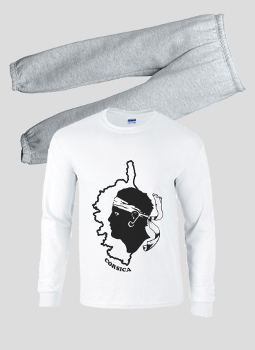 e58e92bbd90ea Pyjama Corse - Tete de maure personnalisée