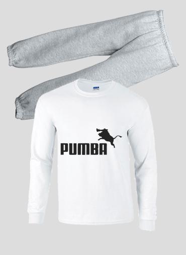 Lifestyle Puma Enfant Or Pumba Pyjama E9beWDY2IH