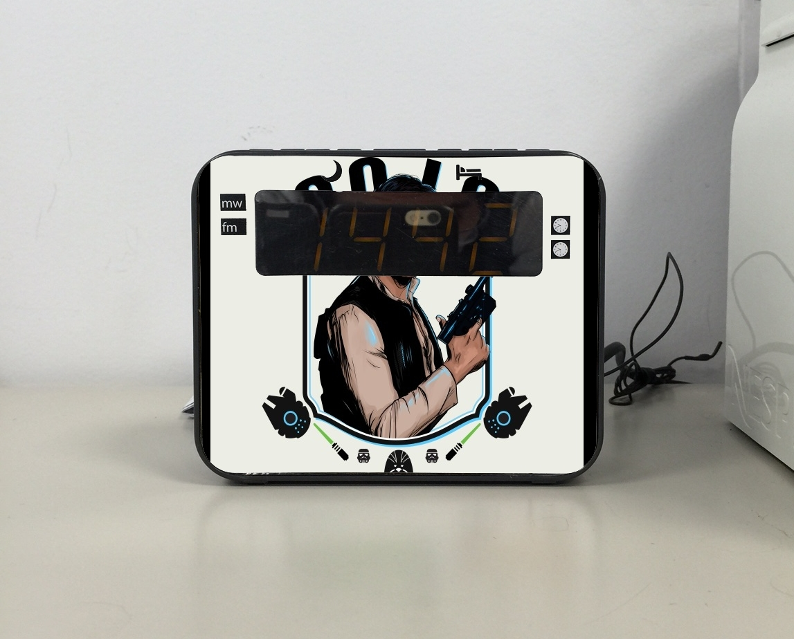 radio r veil han solo from star wars personnalis e. Black Bedroom Furniture Sets. Home Design Ideas