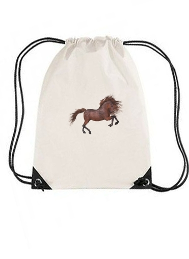 sac de sport A Horse In The Sunset avec cordon