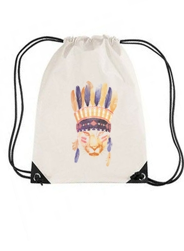 sac de sport Big chief avec cordon