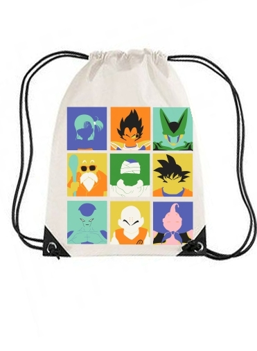 sac de sport Dragon pop avec cordon