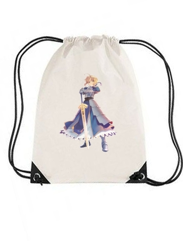sac de sport Fate Zero Fate stay Night Saber King Of Knights avec cordon