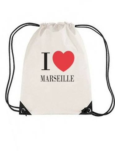 Sac I love Marseille