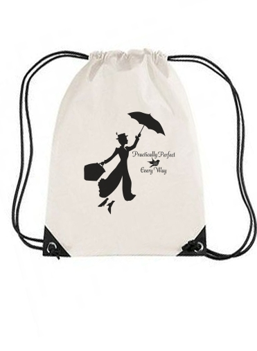 sac de sport Mary Poppins Perfect in every way avec cordon