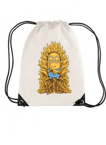sac de sport Minion Throne avec cordon