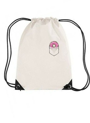 sac de sport Pocket Collection: Donut Springfield avec cordon
