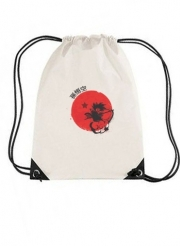 sac de sport Red Sun Young Monkey avec cordon