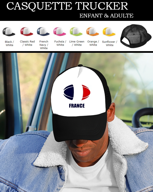 casquette france Rugby