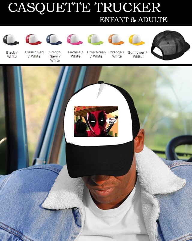 casquette Mexican Deadpool