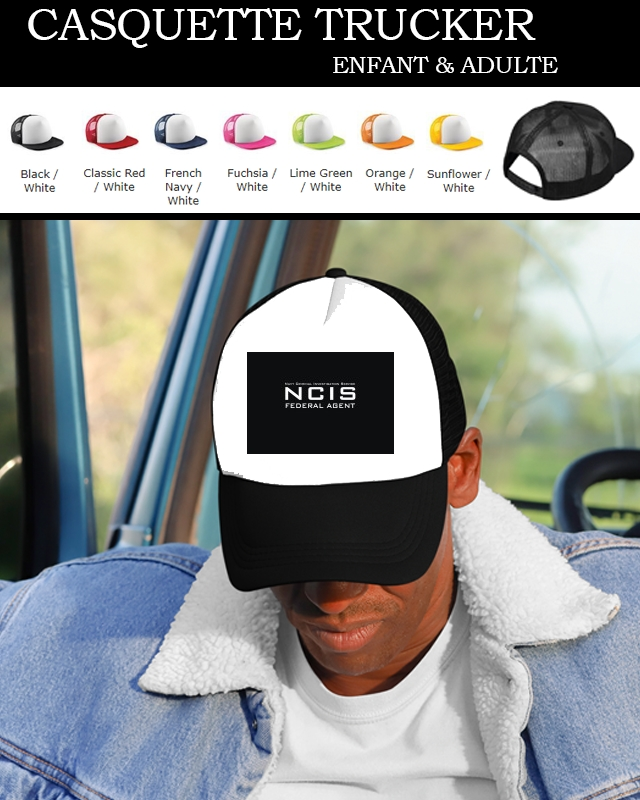 casquette NCIS federal Agent