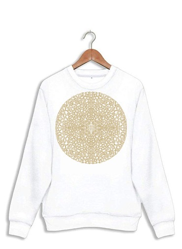 Sweat Geometric Bohemian Mandala